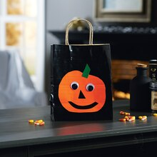 Duck Tape® Pumpkin Treat Bags